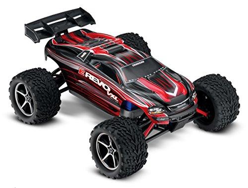 Traxxas-116-Scale-E-Revo-Brushless-Monster-Truck-with-TSM-Red