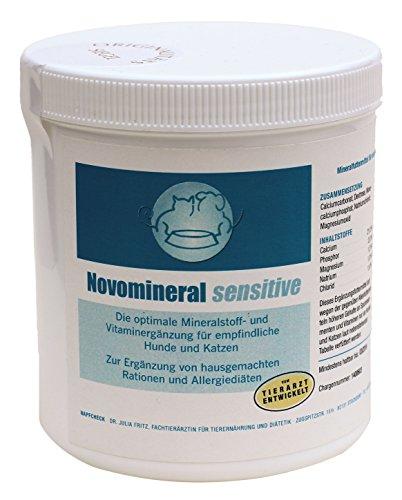 Novomineral sensitive - Vitamin-Mineralfutter hypoallergen - Hund & Katze - 500 g