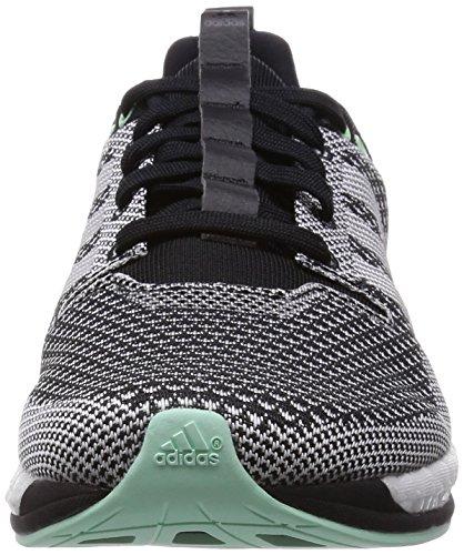 adidas adizero Feather Boost Damen Laufschuhe Schwarz (Black/Frozen Green F15/Black)
