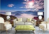 Yosot 3D Große Tapete Mural Hd Alpine Blumen Und Wolken Vision Sonnenlicht Natur Hintergrund Benutzerdefinierte Silk Fototapete-450cmx300cm