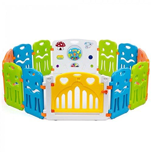 baby-vivo-parc-bebe-avec-porte-matiere-plastique-colors-xl