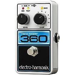 Electro Harmonix 665223 Effet de Guitare électrique avec Synthétiseur filtre Nano Looper 360