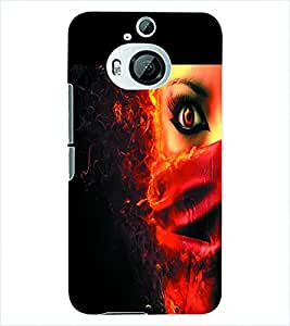 ColourCraft Evil Eye Back Case Cover for HTC ONE M9 PLUS