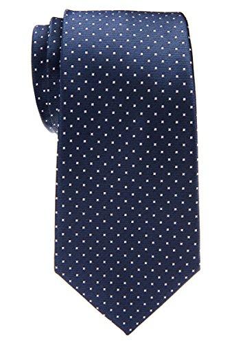 Retreez Herren Pin Dots Woven Weste mit Krawatte, Fliege, Pocket Geschenk-Box Set, quadratisch Grey with Light Grey Pin Dots