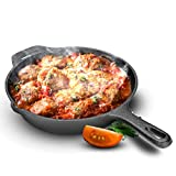 Best Electric Fry Pans - Royalford 30cm Cast Iron Skillet - Non-Stick Pan Review