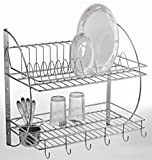 #10: Lifetime Kitchen Rack Organiser/ Dish Drainer/Corner Rack/ Kitchen Racks/Racks & Shelves/Racks