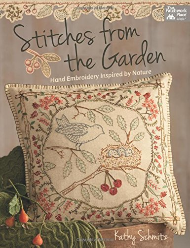 STITCHES FROM THE GARDEN por KATHY SCHMITZ