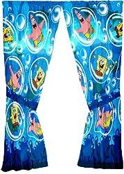 Sponge Bob Playful Bubbles 63-Inch Drape