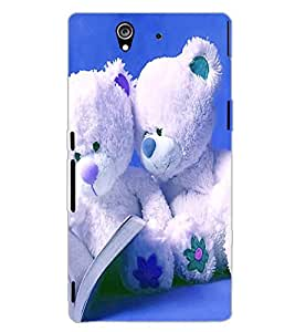 SONY XPERIA Z TEDYBEAR Back Cover by PRINTSWAG
