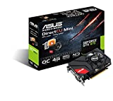 Asus GTX970-DCMOC-4GD5 GeForce Nvidia Gaming Grafikkarte (PCIe 3.0 x16, 4GB DDR5 Speicher, HDMI, 2 x DVI, 3 x DisplayPort)