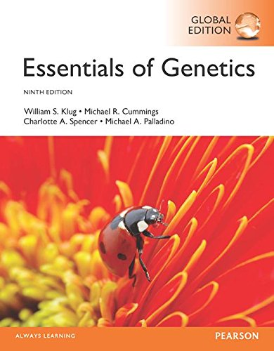 Essentials of Genetics, Global Edition por William S. Klug