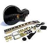 """E-Gitarren-Bausatz/Guitar DIY Kit """"ML-Factory"""" MLP custom-Style Black"""
