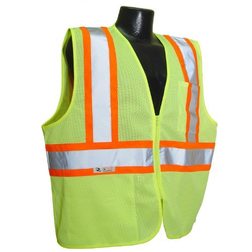 radians-sv22-2zgm-xl-polyester-mesh-economy-class-2-high-visibility-zipper-closure-vest-with-two-ton