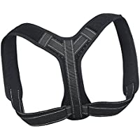 MagiDeal Schwarz Schulterbandage Geradehalter zur Haltungskorrektur Rückenstütze Schulterstabilisator für Herren... preisvergleich bei billige-tabletten.eu