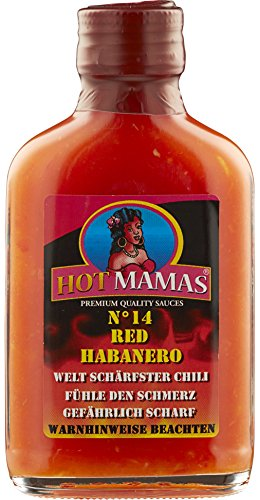 HotMamas® Chilisauce red Habanero 100ml