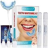 Teeth Whitening Kit,Zahnaufhellung Set,Zahnaufhellung Gel,Zahnaufhellung Kit,Zahnweiß-Bleichsystem,Home Bleaching Kit,Gegen Gelbe Zähne,Rauchflecken,Schwarze Zähne