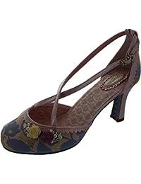 e8ce3ddb20f3 Joe Browns Couture Womens Evangeline Lilac and Pink High Heel Shoe UK 4 -  EU 37