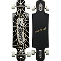 Madrid Riot Top-Mount Longboard, Cast, 34.25 Zoll
