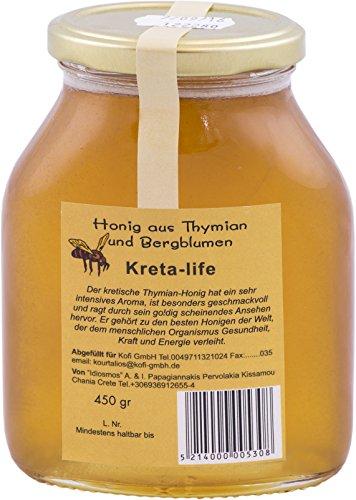 Idiosmos - Honig aus Thymian und Bergblumen - 450g