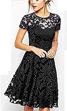 Culater® Las mujeres del partido de tarde del cordón del vestido floral Casual