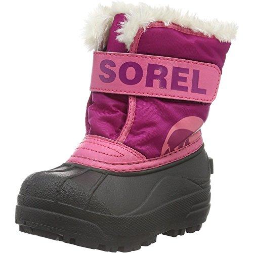 Sorel Snow Commander, Bottes de Neige Mixte Enfant - 123vacances a444b2d3e129