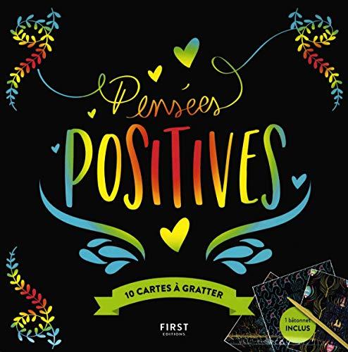 Cartes à gratter - Pensées positives - 10 cartes à gratter par Lisa MAGANO