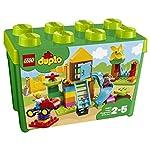 LEGO 10864 DUPLO My First La mia grande scatola di mattoncini - Parco giochi LEGO