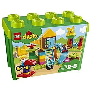LEGO Duplo - My First - la Mia Grande Scatola di Mattoncini - Parco Giochi, 10864 5702016117172 LEGO