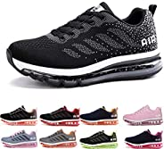 Uomo Donna Air Scarpe da Ginnastica Corsa Sportive Fitness Running Sneakers Basse Interior Casual all'Aper