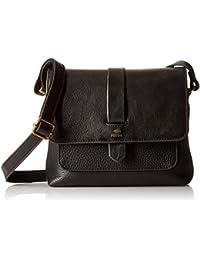 Fossil Women's Crossbody Sling Bag (Black)
