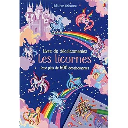 Les licornes - Livre de décalcomanies