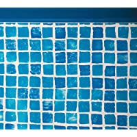 Gre FPR357 - Liner mosaicato 50/100 per piscina tonda Ø 350 h 132