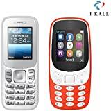 I Kall K16 New And K3310 1.8 Inch Mobile Combo (White + Red)