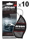 Areon Lufterfrischer Auto Sport Lux Platinum Duft Anhänger Hängend zum Aufhängen Spiegel Autoduft Erfrischer Duftspen