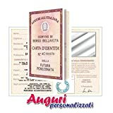 Biglietto carta d'identità pensionata