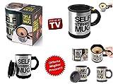 IDOR STORE Tazza AUTOMESCOLANTE Termica Self Stirring Mug Miscela Schiuma caffè Latte