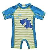 CharmLeaks Kids One Piece Rash Guard UV Sun Protection Swimsuit Swimwear UPF 50+