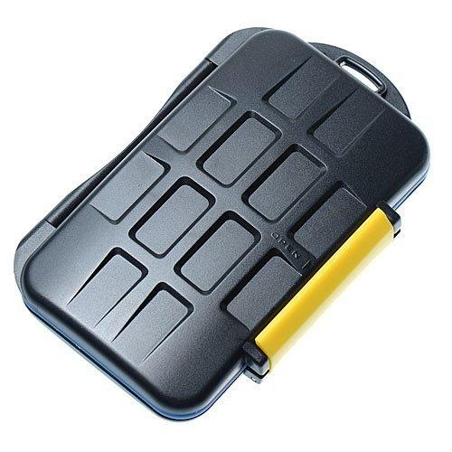 JJC MC-3 - Speicherkarten Schutzbox für CF Compactflash und SD/SDHC/SDXC Karten - Memory Stick PRO Duo und XD Karten - Wasserdicht