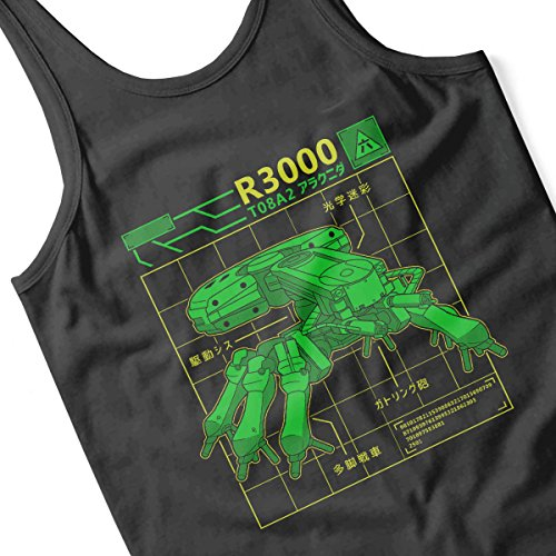 R3000 Robot Database Ghost In A Shell Women's Vest Black