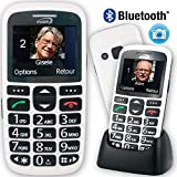 Mobiho-Essentiel le CLASSIC INITIAL BLANC - Téléphone complet senior. Le seul appareil réunissant toutes les solutions : audition, vision, handicap préhension, dextérité, fausses manipulations correspond parfaitement à ce que peut faire l'utilisateur. Vous choisirez ce qu'il est possible de laisser. DEBLOQUE TOUT OPERATEUR