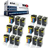30x kompatible XXL Tintenpatronen für Epson Workforce WF 3600 WF 3620 DWF WF 3620 WF 3640 DTWF 27 XL T 2711 - T 2714 Series Black Cyan Magenta Yellow - Easy Pro Serie