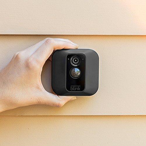 Blink Home Security Kamera-System Ihr Smartphone mit Bewegungserkennung (3 Pack XT (Innen / Außen))