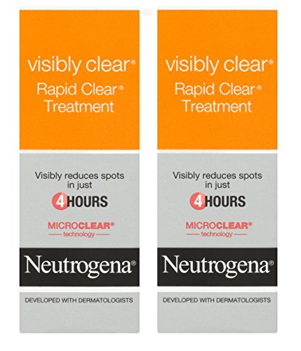 Kohle-teer Shampoo (2 x Neutrogena Visibly Clear Rapid Clear Spot Treatment 15 ml)