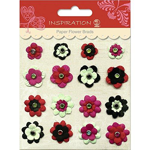 Paper Flower Brads (PAPER FLOWERS BRADS MOTIV 05)