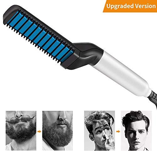 Peine eléctrico de barba para hombres