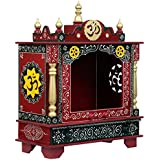 HomeCrafts Wooden Home Temple (18 X 12 X 24 Inches)