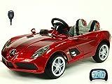 Kinderauto Kinderelektroauto Kinderelektrofahrzeug Kinder elektroauto 12V Kinder Elektroauto Mercedes Lizenziert McLaren Stirling Moss Orginal RC rot