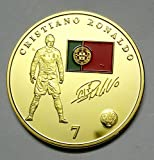 Christiano Ronaldo Gold Plated Fancy Coin