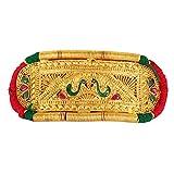 #5: Cardinal Gold Color Padamavati Antique Rajsthani Bajuband/ Necklace For Women/Girls(2 in 1)