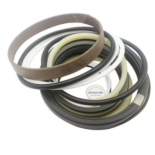 31Y1-18412 31Y1-18411 31Y1-18410 Kit de joint de cylindre hydraulique de boom 2PCS - Kits de joint de réparation de SINOCMP pour des pièces d'excavatrice de Hyundai R450LC-7, garantie de 3 mois